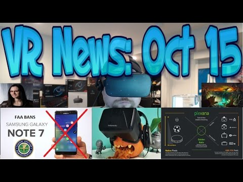 VR News: Oct 15 - VR Room of the Future? - Steam Launches HQ Adaptive 360 Streaming & More!