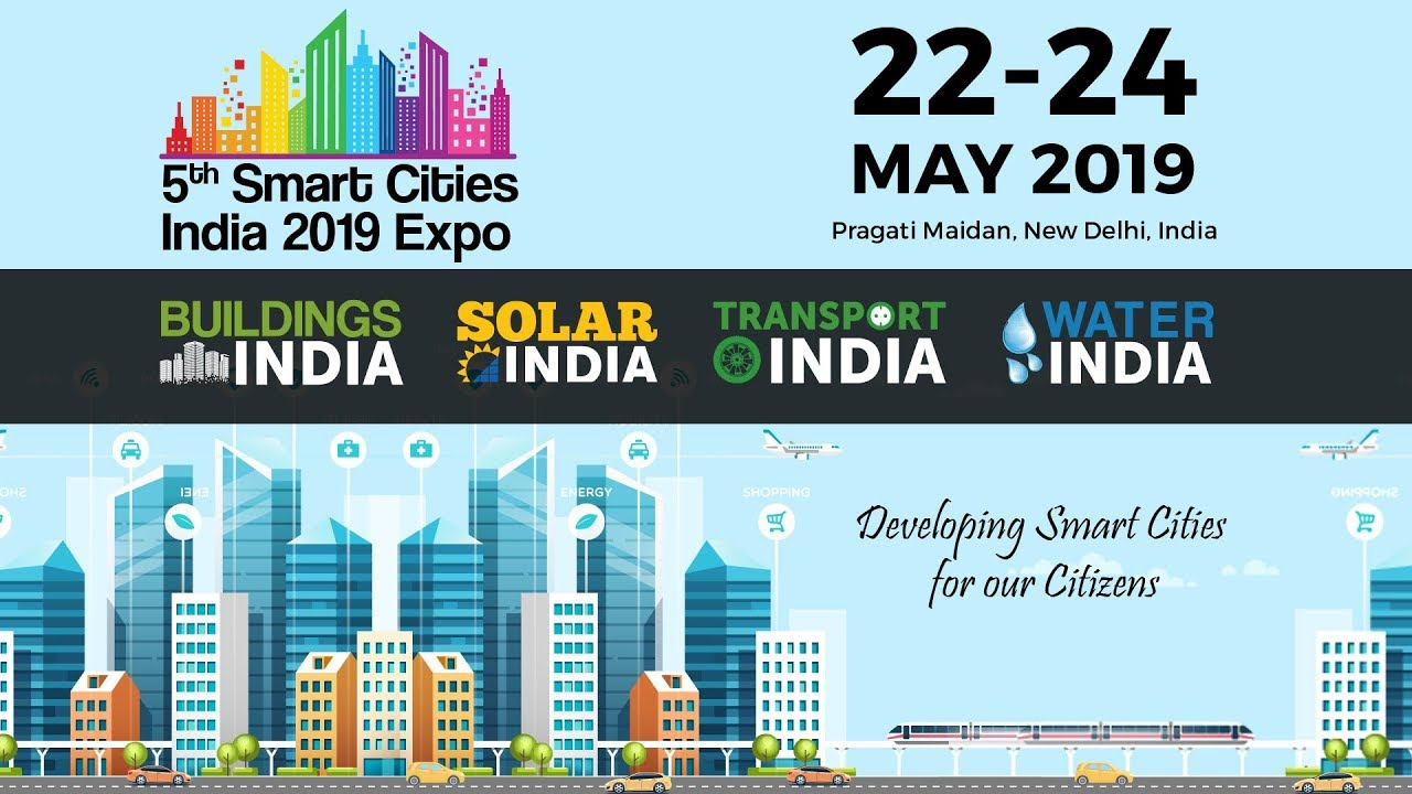 6th Smart Cities India 2020 expo, International Exhibitions