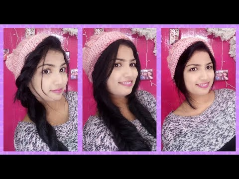 [VIDEO] - Easy Hairstyles for Beanie/ Hat || Winter Hairstyles|| Cute and easy Beanie hairstyles 1