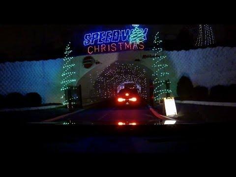 Carolina-Scat Pack at Christmas Lights at Charlotte Motor Speedway-Long 12-7-13