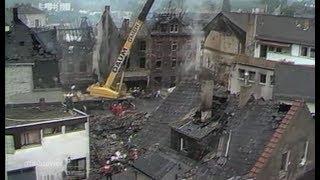 Herborn vor 30 Jahren - Tanklaster rast in die Innenstadt und explodiert