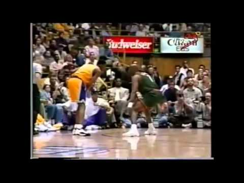 Eddie Jones 32 points vs. Sonics (Career Playoff High)