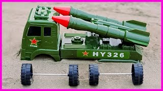 Military Vehicles Assembly Rocket Toy Videos For Children