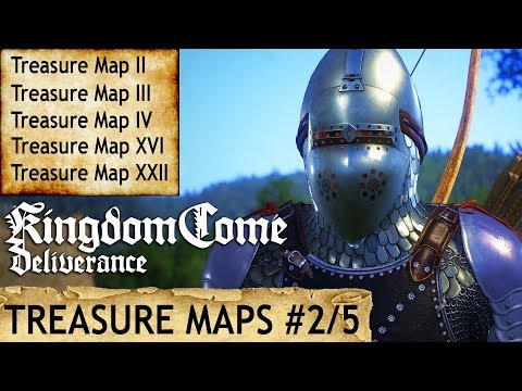 Kingdom Come: Deliverance - Treasure Maps II, III, IV, XVI, XXII