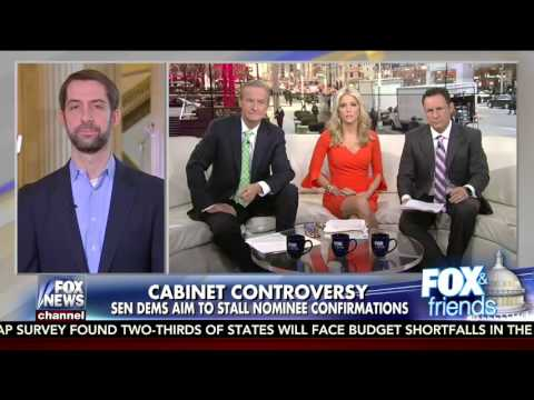 January 25, 2017: Sen. Cotton joins Fox and Friends