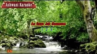 Aapke Aa Jaane Se Karaoke with female voice