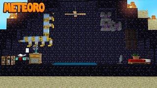 BASE SECRETA DENTRO DO METEORO! - Forever Stranded #27 (Minecraft Modpack)