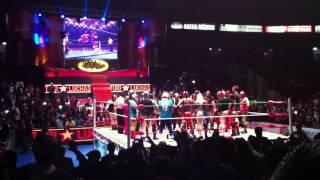 Homenaje al Hijo del Perro Aguayo en la Arena México