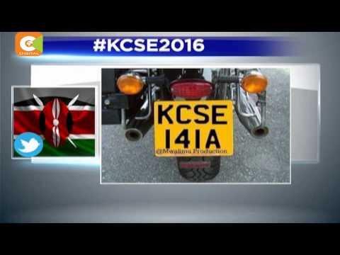 Kenyans take to social media over KCSE results.