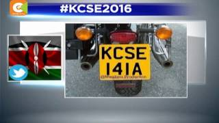Kenyans take to social media over KCSE results.