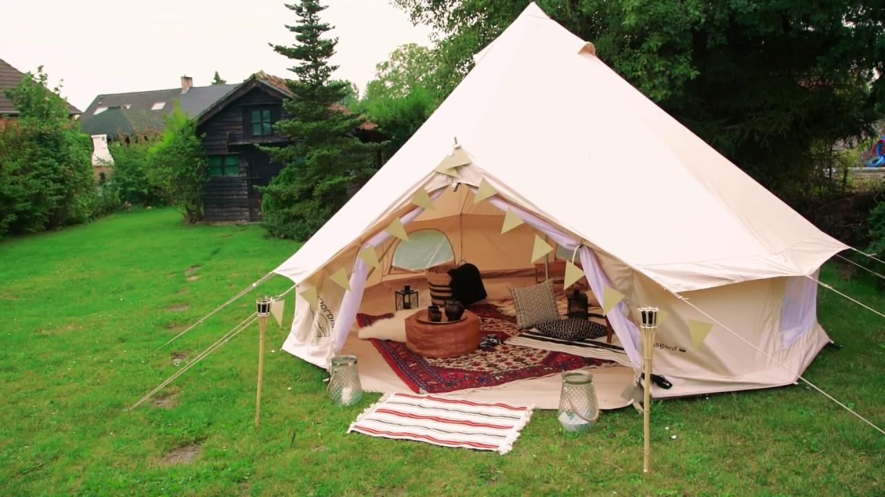 DIY : une tente berbère dans le jardin | ELLE Belgique
