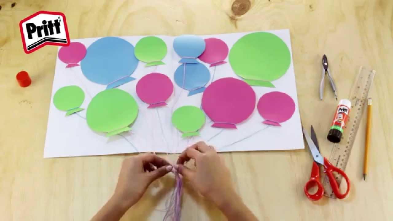 Manualidades para regalar tarjeta de cumplea os youtube - Regalos para fiestas de cumpleanos infantiles ...