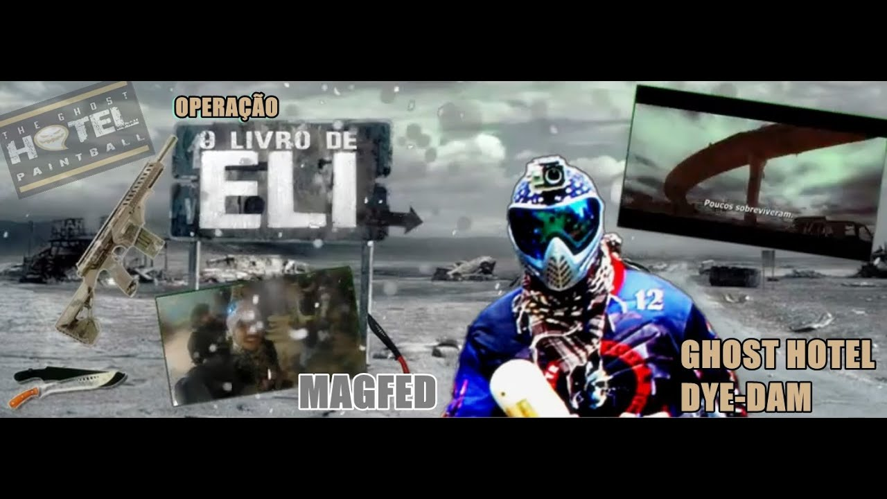 AVANÇANDO NAS BASE PAINTBALL MEGFED GHOST HOTEL LIVRO DE ELI