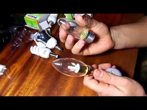 Обзор лампочек для дома