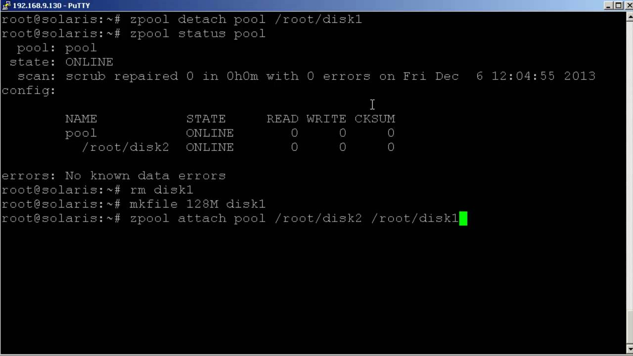 Solaris 11 Creating and maintaining ZFS Pools - The Urban Penguin