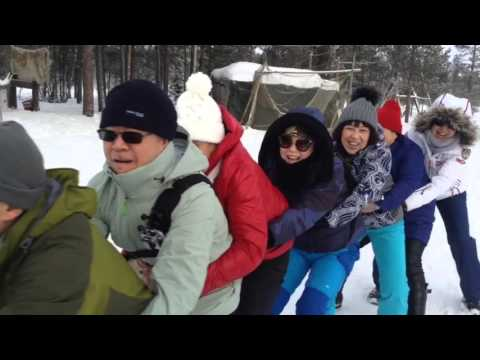 Video Tourists from China visited the Kola Peninsula and the city of Murmansk.