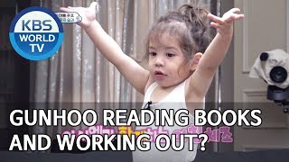 Gunhoo reading books and working out? [The Return of Superman/2019.10.20]