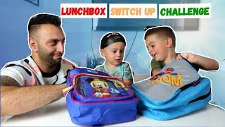 BACK TO SCHOOL CHALLENGE: LUNCHBOX SWITCH UP! | LAKAP JUNIOR