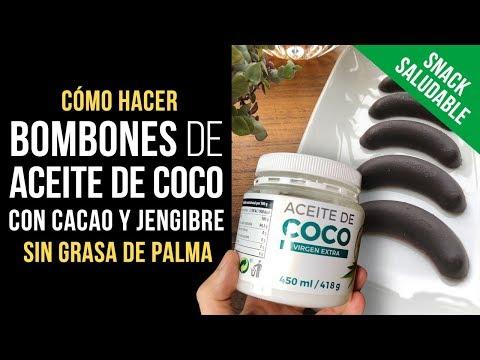 Bombones de Aceite de Coco