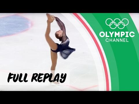 Girls Figure Skating ⛸ Long Program | RE-LIVE | European Youth Olympic Festival 2017