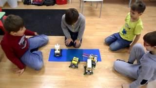 Шагающие роботы