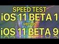 iOS 11 Beta 1 vs iOS 11 Beta 9 / Public Beta 8 ? How much progress has Apple made in 9 releases.