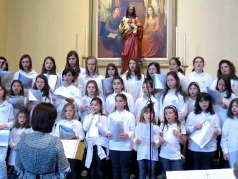 coro del sorriso - Padre Nostro sound of silence