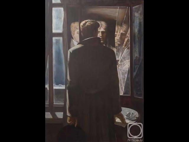 Изображение предпросмотра прочтения – РегинаДенисова читает отрывок изпроизведения «Чёрный человек» С.А.Есенина