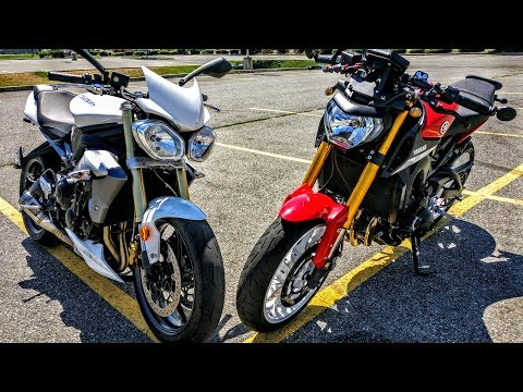 Yamaha FZ09 vs. Triumph Street Triple - Which Should You Choose?