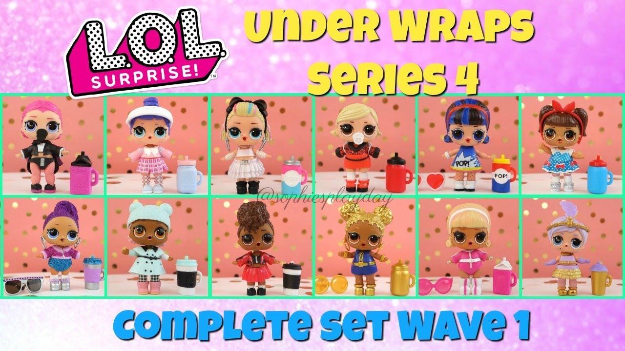 EYE SPY LOL Surprise Under Wraps Series 4 Wave 1
