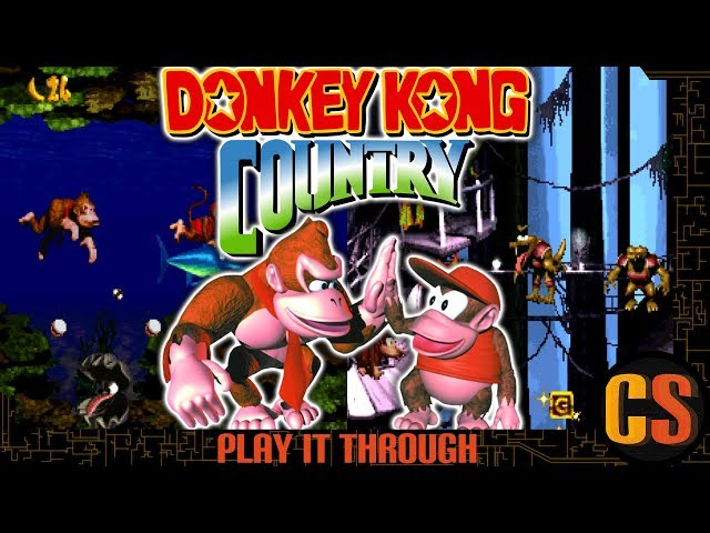 DONKEY KONG COUNTRY 101% - PLAY IT THROUGH