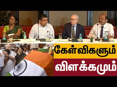 Jayalalithaa's death: Questions and explanation from Richard beale & Apollo doctors | Full details