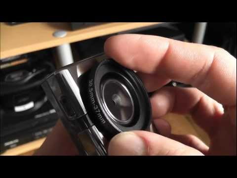 Flip Mino Lens Hack - Fisheye/Macro/Wide-Angle - How To And Demo - Modification