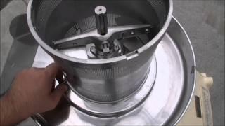 GR81 バスケット型造粒機 畑鉄工 中古機械の田島化学機械