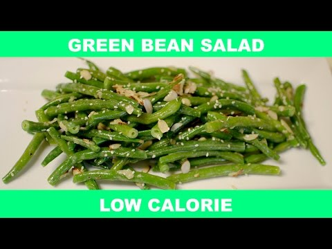 How To Make Green Bean Salad with Slivered Almonds - Quick Recipe