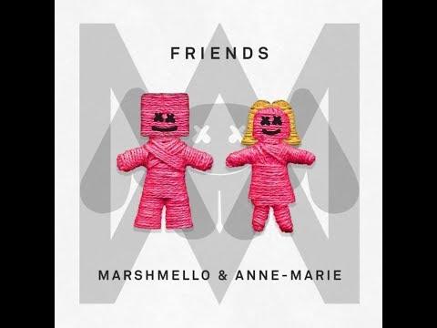 Marshmello & Anne-Marie - FRIENDS (Greek Lyrics)