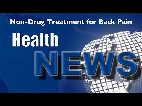 Today's Chiropractic HealthNews For You - Non Drug Treatments for Back Pain