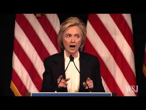 Hillary Clinton Outlines Economic Policy Plans