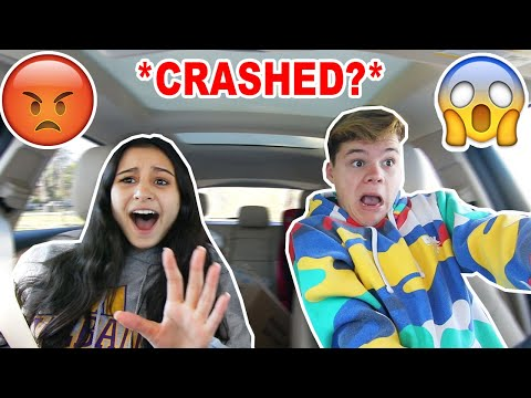 My GIRLFRIEND Teaches Me How To Drive! *FIGHT*