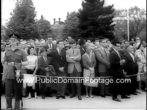 Israeli premier David Ben Gurion visits Canada 1961 public domain newsreel archival footage