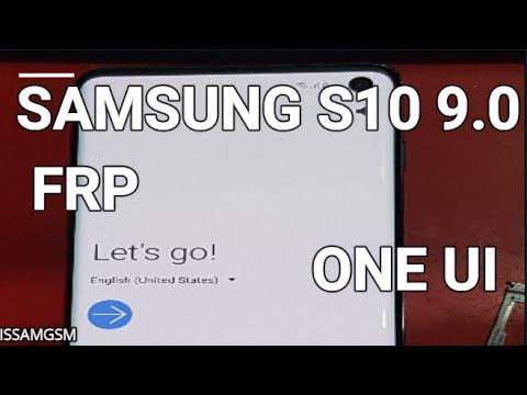 Samsung Galaxy S10e, S10 & S10+ G973F How to BYPASS FRP