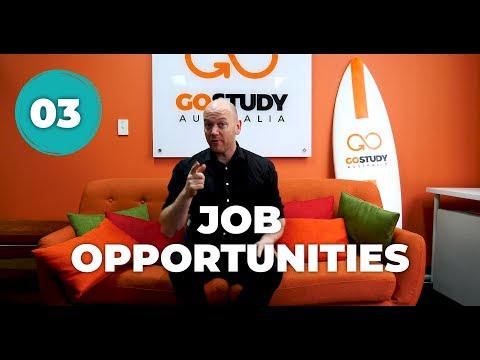 03. JOB OPPORTUNITIES IN AUSTRALIA