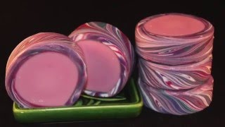 Rimmed Soap-Great Cakes Soapworks Challenge March 2016