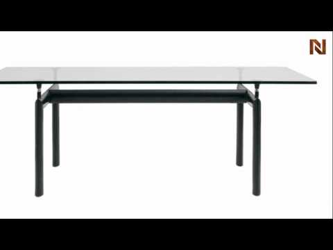 Nuevo Madrid dining table black HGGA128