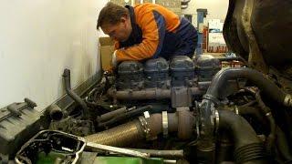 Сборка двигателя SCANIA P 230 Engine Assembly