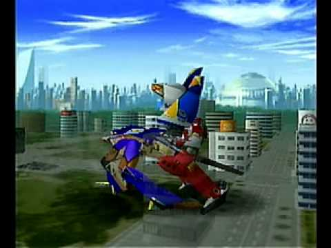 Tech Romancer KARAOKE Video (Dreamcast)