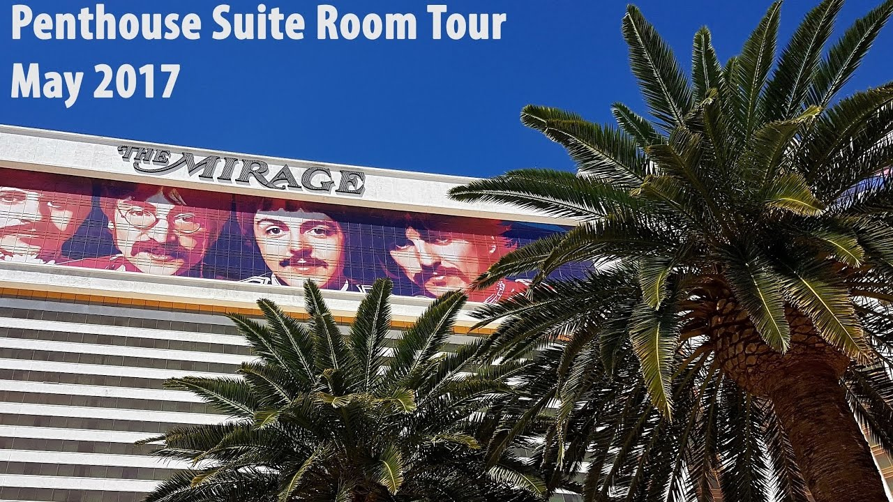 Mirage las vegas rooms and suites - One Bedroom Penthouse Suite Room Tour At The Mirage Las Vegas