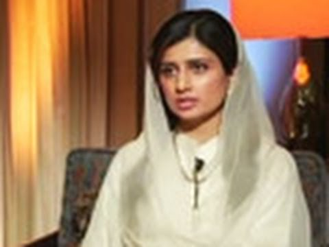 Pak Foreign Minister Hina Rabbani Khar speaks to NDTV