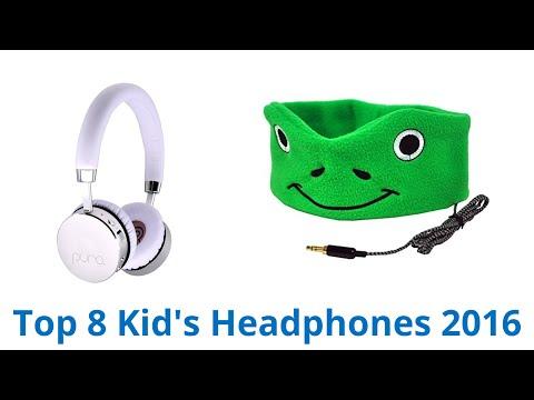 8 Best Kid's Headphones 2016