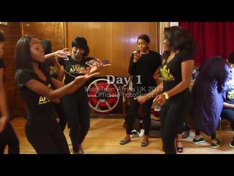 Miss Teen Africa UK 2017 Day 1 PhotoShoot